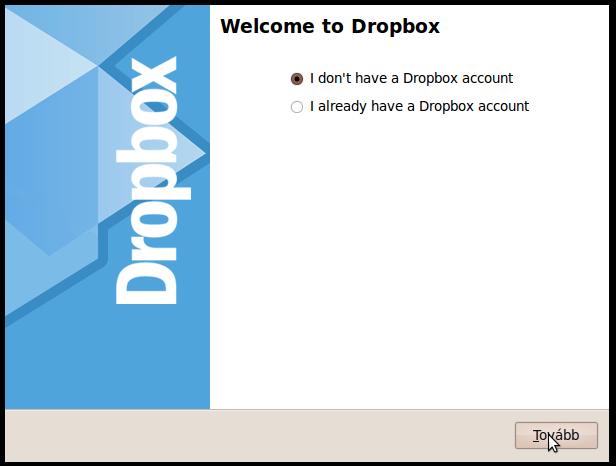 dropbox telepítése, dropbox, dropbox tárhely, dropbox telepítésének lépései webtárhely, tárhely