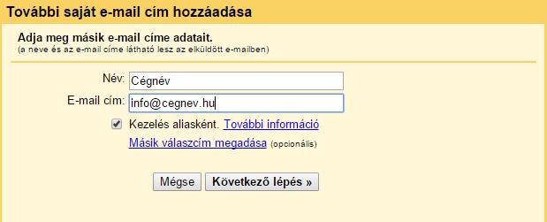 gmail felület saját e-mail címmel, gmail használata saját e-mail címmel, honlap készítés Pécs