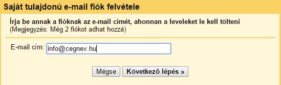 gmail felület saját e-mail címmel, gmail használata saját e-mail címmel, weblapkészítés Pécs