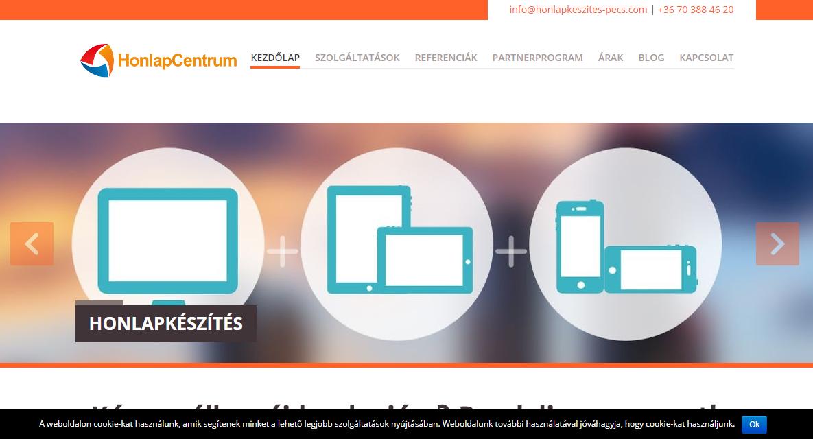 kötelező cookie tájékoztatás, kötelező süti tájékoztató, honlapkészítés, honlapkészítés Pécs, weblapkészítés, weblapkészítés Pécs