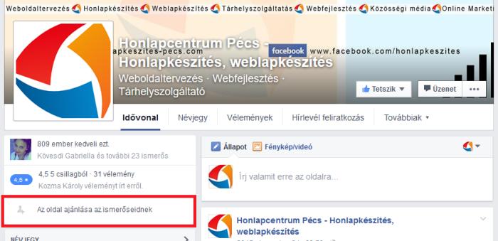 honlapkészítés, honlap készítés, weblapkészítés, weblap készítés, egyedi url facebook oldal számára, facebook egyedi url