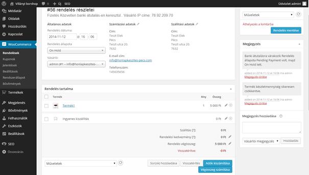 webáruház készítés Pécs, webshop készítés Pécs, webáruház, webshop